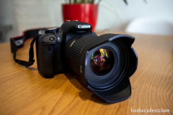 Cámara de fotos: Canon 650d con objetivos Sigma y Canon y complementos. Ver descripcion - Foto 4 - 185782457