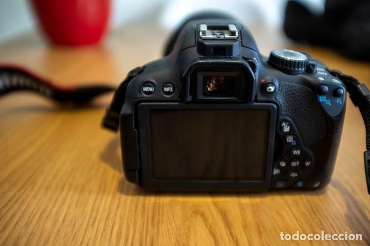 Cámara de fotos: Canon 650d con objetivos Sigma y Canon y complementos. Ver descripcion - Foto 5 - 185782457