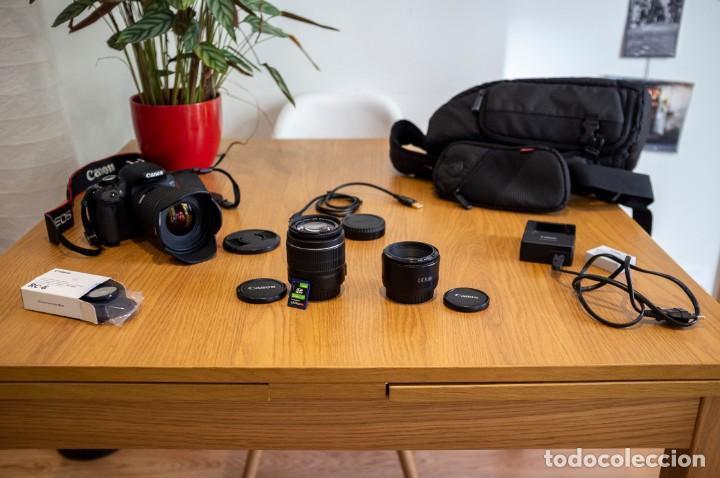 Cámara de fotos: Canon 650d con objetivos Sigma y Canon y complementos. Ver descripcion - Foto 10 - 185782457