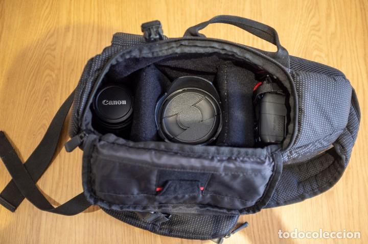 Cámara de fotos: Canon 650d con objetivos Sigma y Canon y complementos. Ver descripcion - Foto 12 - 185782457