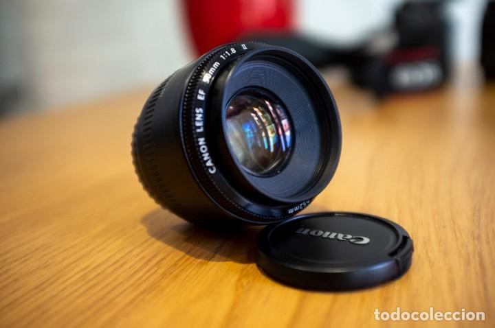 Cámara de fotos: Canon 650d con objetivos Sigma y Canon y complementos. Ver descripcion - Foto 22 - 185782457