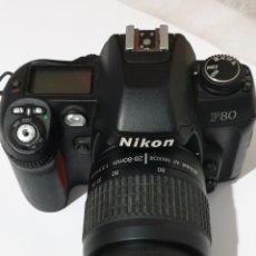 Cámara de fotos: CAMARA NIKON F80. Lote 186405811