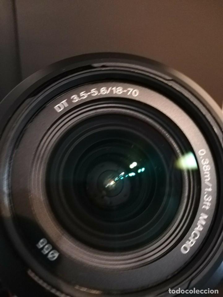 Cámara de fotos: Cámara Reflex sony a200 con zoom incluido DT 3.5-5.6/18-70 - Foto 6 - 188578660