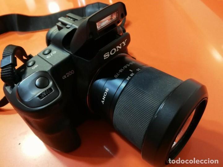 Cámara de fotos: Cámara Reflex sony a200 con zoom incluido DT 3.5-5.6/18-70 - Foto 11 - 188578660