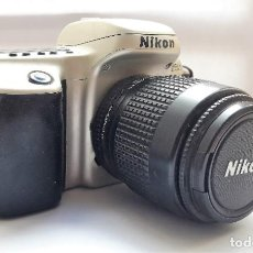 Cámara de fotos: CÁMARA NIKON F50 EN PERFECTO ESTADO CON OBJETIVO NIKKOR 35/80 MM Y BATERÍA RECARGABLE. . Lote 189112260