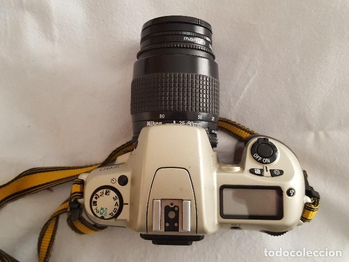 Cámara de fotos: CAMARA NIKON F60 OBJETIVO NIKON AF NIKKOR 35-80mm. 1:4-5.6D CON BOLSO TRANSPORTE Y ACCESORIOS - Foto 2 - 189977282