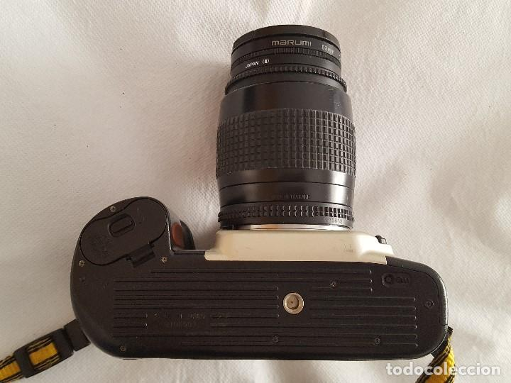 Cámara de fotos: CAMARA NIKON F60 OBJETIVO NIKON AF NIKKOR 35-80mm. 1:4-5.6D CON BOLSO TRANSPORTE Y ACCESORIOS - Foto 3 - 189977282