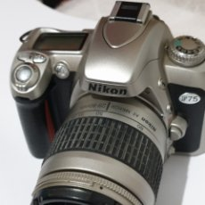 Cámara de fotos: CAMARA NIKON F75. Lote 186405811