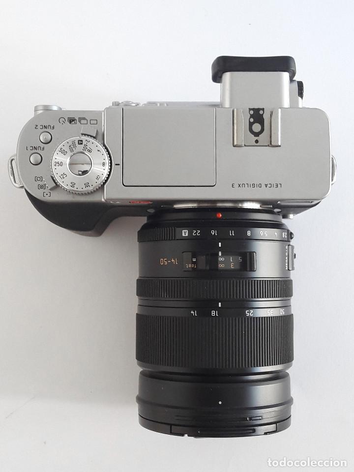 Cámara de fotos: LEICA DIGILUX 3 + OBJETIVO LEICA D 14-50 mm ASPH (F2.8-F3.5) + ACCESORIOS - Foto 3 - 191352416