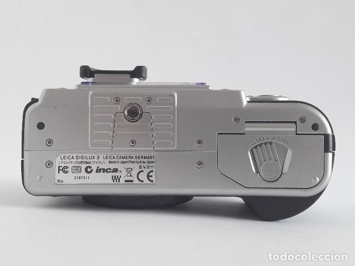 Cámara de fotos: LEICA DIGILUX 3 + OBJETIVO LEICA D 14-50 mm ASPH (F2.8-F3.5) + ACCESORIOS - Foto 4 - 191352416