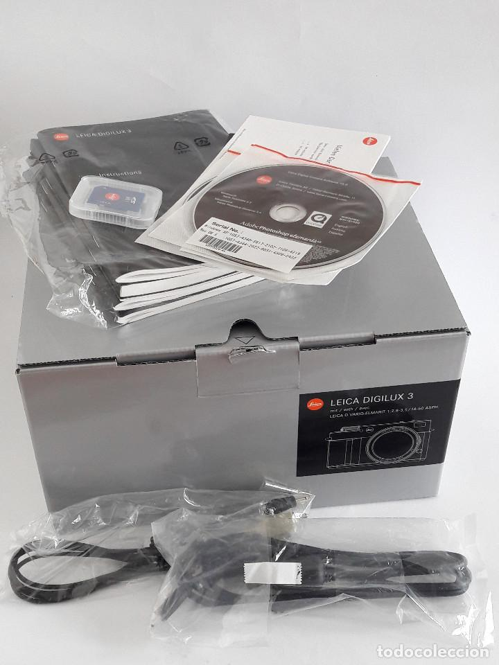 Cámara de fotos: LEICA DIGILUX 3 + OBJETIVO LEICA D 14-50 mm ASPH (F2.8-F3.5) + ACCESORIOS - Foto 12 - 191352416