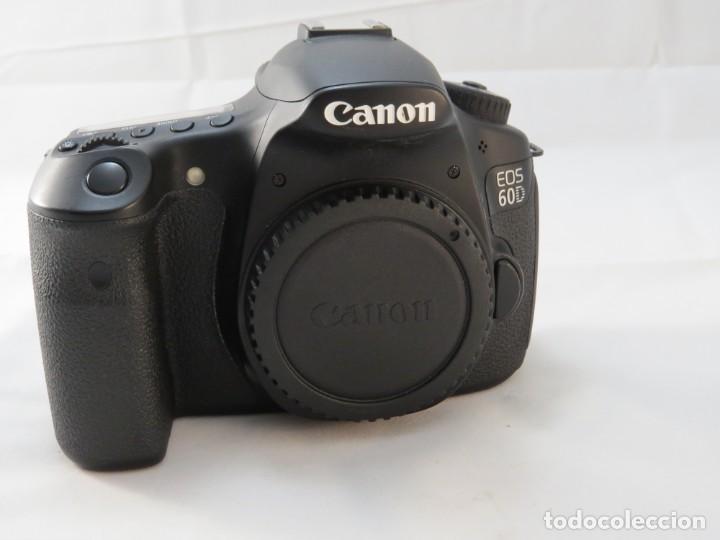 Cámara de fotos: Canon 60 D equipo completo - Foto 2 - 194128623