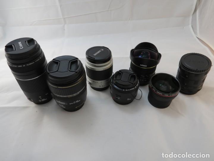 Cámara de fotos: Canon 60 D equipo completo - Foto 10 - 194128623