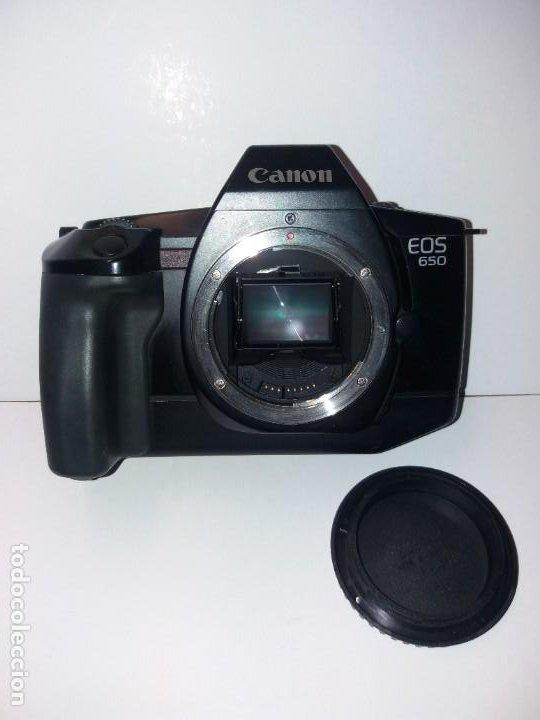 EXCELENTE CAMARA CANON EOS 650 DE FINALES DE LOS 80´S (Cámaras Fotográficas - Réflex (autofoco))