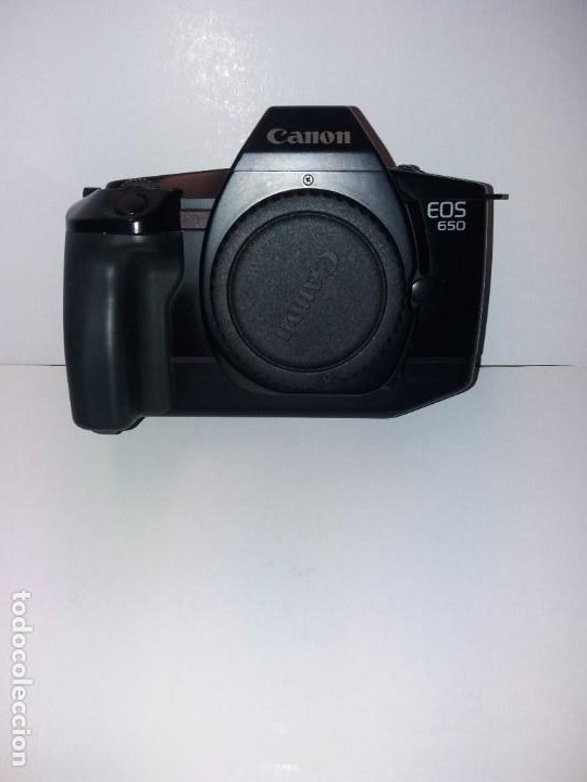 Cámara de fotos: EXCELENTE CAMARA CANON EOS 650 DE FINALES DE LOS 80´s - Foto 2 - 194342920