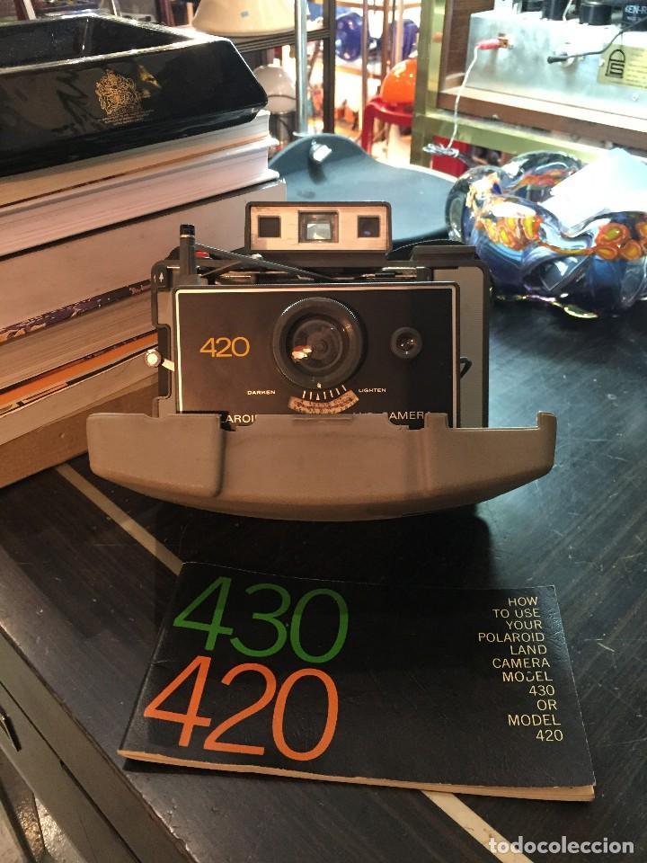 Cámara de fotos: CAMARA DE FOTOS POLAROID MODELO 420 DE LOS AÑOS 70 - Foto 6 - 194858646