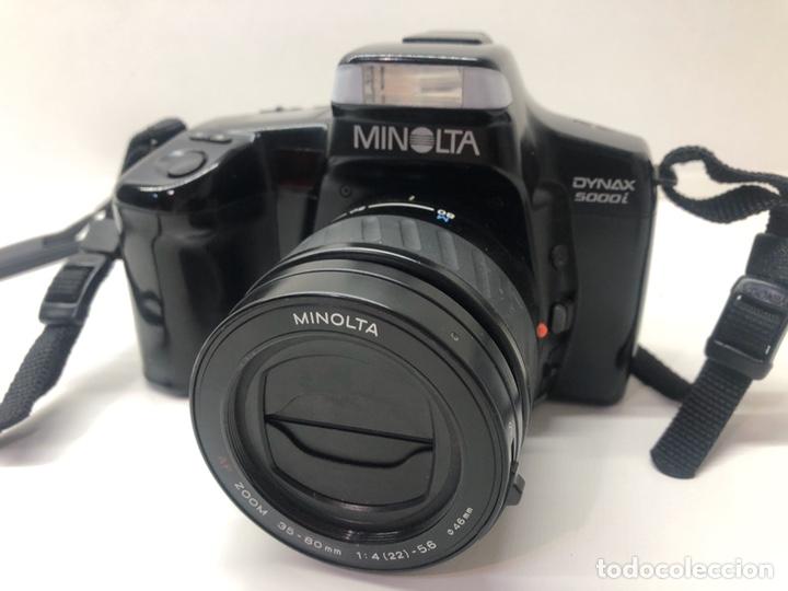 CÁMARA MINOLTA DYNAX 5000I (Cámaras Fotográficas - Réflex (autofoco))