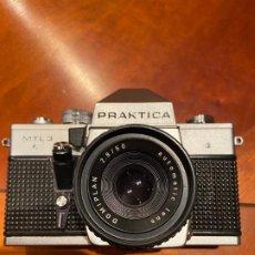Cámara de fotos: CAMARA PRAKTICA MTL3 + OBJETIVO+FLASH. Lote 194954098