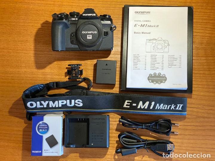 OLYMPUS OM-D E-M1 MARK II (Cámaras Fotográficas - Réflex (autofoco))