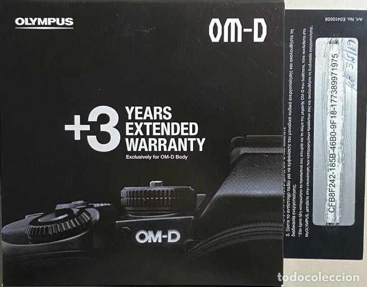 Cámara de fotos: Olympus OM-D E-M1 Mark II - Foto 3 - 195289385