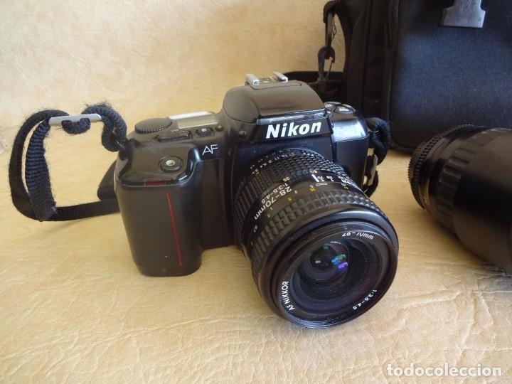 Cámara de fotos: camara nikon af f-601 con 3 objetivos nikkor 28-70mm sigma 70-300 dl macro tamron af 70-210 - Foto 2 - 195654315