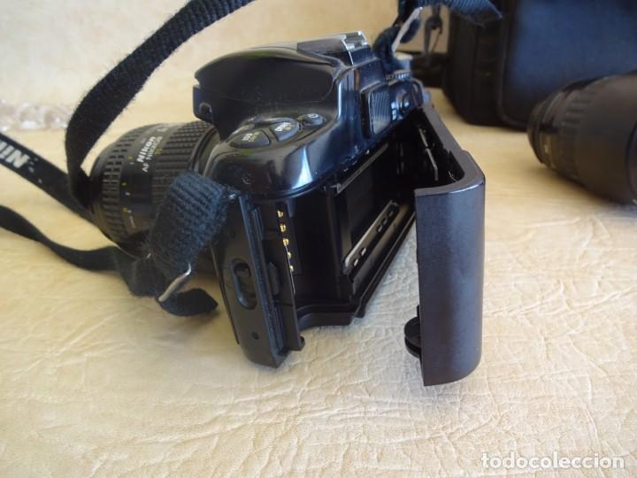 Cámara de fotos: camara nikon af f-601 con 3 objetivos nikkor 28-70mm sigma 70-300 dl macro tamron af 70-210 - Foto 5 - 195654315