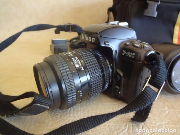 Cámara de fotos: camara nikon af f-601 con 3 objetivos nikkor 28-70mm sigma 70-300 dl macro tamron af 70-210 - Foto 7 - 195654315