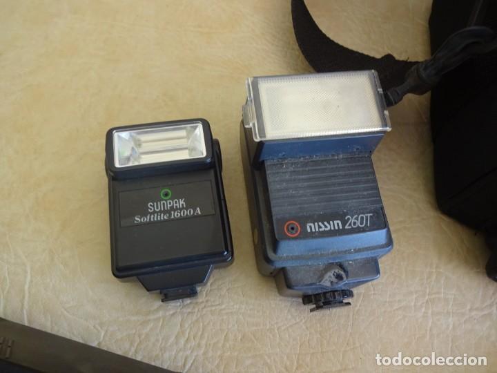 Cámara de fotos: camara nikon af f-601 con 3 objetivos nikkor 28-70mm sigma 70-300 dl macro tamron af 70-210 - Foto 8 - 195654315