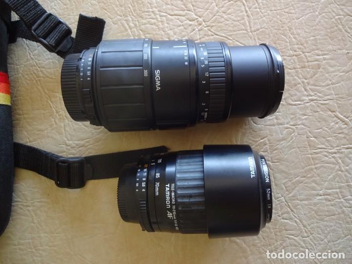 Cámara de fotos: camara nikon af f-601 con 3 objetivos nikkor 28-70mm sigma 70-300 dl macro tamron af 70-210 - Foto 11 - 195654315
