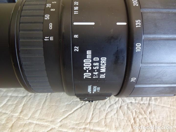 Cámara de fotos: camara nikon af f-601 con 3 objetivos nikkor 28-70mm sigma 70-300 dl macro tamron af 70-210 - Foto 13 - 195654315