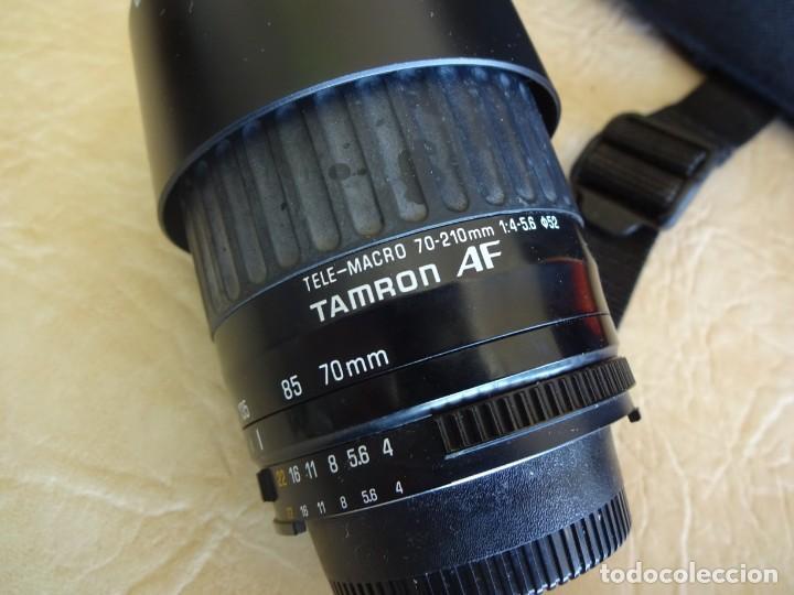 Cámara de fotos: camara nikon af f-601 con 3 objetivos nikkor 28-70mm sigma 70-300 dl macro tamron af 70-210 - Foto 14 - 195654315