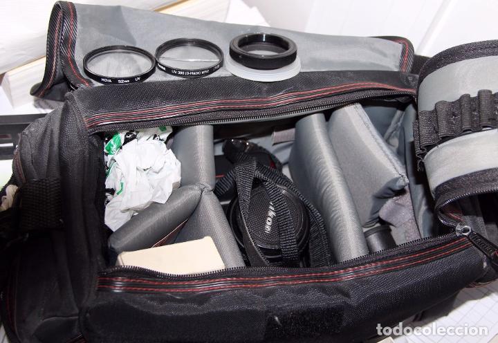 Cámara de fotos: Cámara Reflex NIKON F601 con bolsa y accesorios - Foto 2 - 195947597
