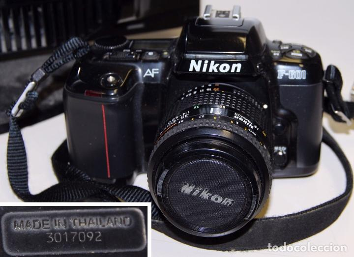 CÁMARA REFLEX NIKON F601 CON BOLSA Y ACCESORIOS (Cámaras Fotográficas - Réflex (autofoco))