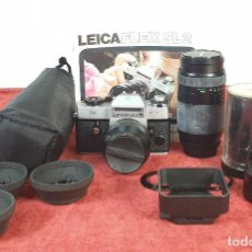 Cámara de fotos: CÁMARA DE FOTOGRAFÍA LEICA FLEX SL2. 35 MM SLR. ALEMANIA. CIRCA 1970. . Lote 196447436