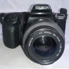 Cámara de fotos: CAMARA FOTOS REFLEX MINOLTA DYNAX 500 SI . Lote 197242198