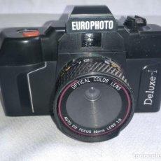 Cámara de fotos: CAMARA FOTOS REFLEX EUROPHOTO DELUXE I . Lote 197242771