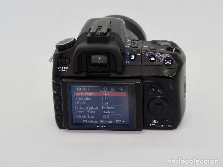 Cámara de fotos: Sony Alpha 350+Sony 18-70mm - Foto 3 - 197641578
