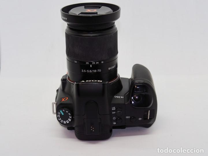 Cámara de fotos: Sony Alpha 350+Sony 18-70mm - Foto 4 - 197641578