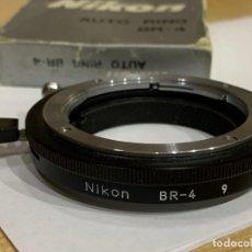 Cámara de fotos: NIKON RING BR-4. Lote 198523875