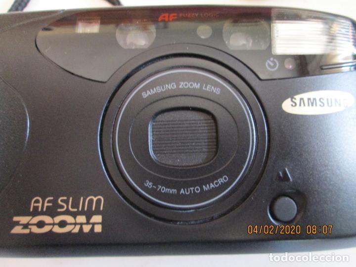 Cámara de fotos: CÁMARA FOTOGRÁFICA SAMSUNG AF SLIM ZOOM. - Foto 2 - 199170108