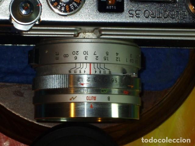 Cámara de fotos: CAMARA YASHIKA ELECTRO 35 GSN - Foto 10 - 199262032