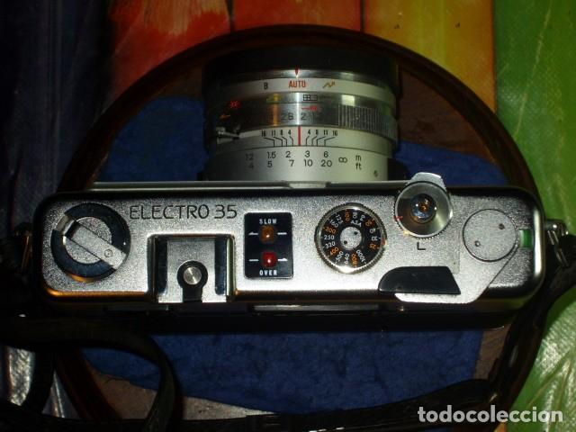 Cámara de fotos: CAMARA YASHIKA ELECTRO 35 GSN - Foto 11 - 199262032