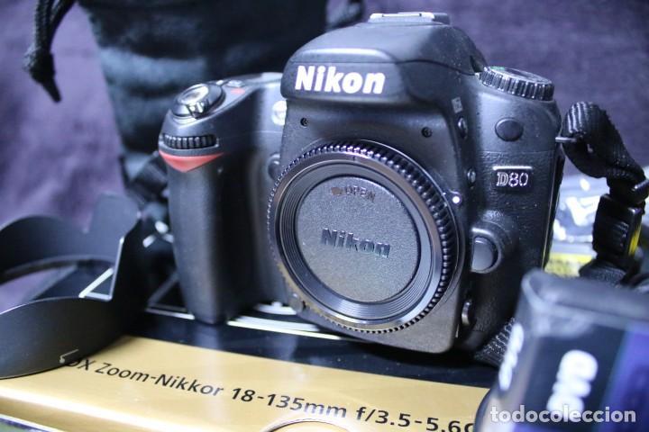 Cámara de fotos: KIT NIKON D 80 reflex dslr camara fotos digital - Foto 2 - 203044385