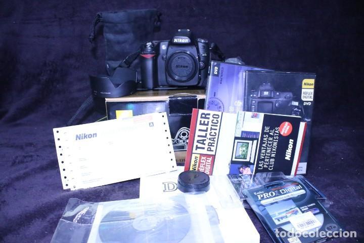 Cámara de fotos: KIT NIKON D 80 reflex dslr camara fotos digital - Foto 11 - 203044385