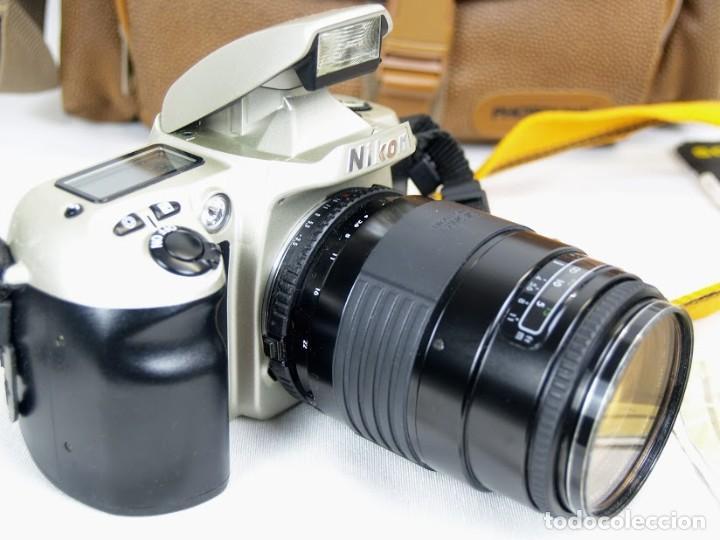 Cámara de fotos: Camara de fotos Nikon F60 + objetivo Sigma F35-135 mm - Foto 3 - 203628652