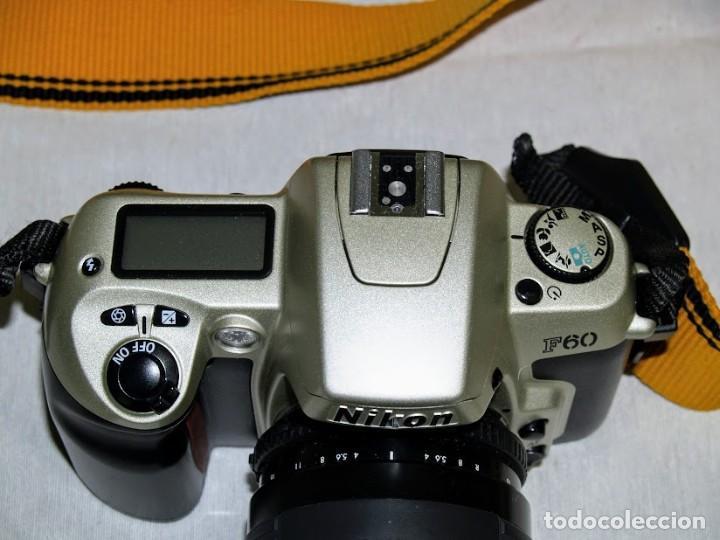 Cámara de fotos: Camara de fotos Nikon F60 + objetivo Sigma F35-135 mm - Foto 6 - 203628652