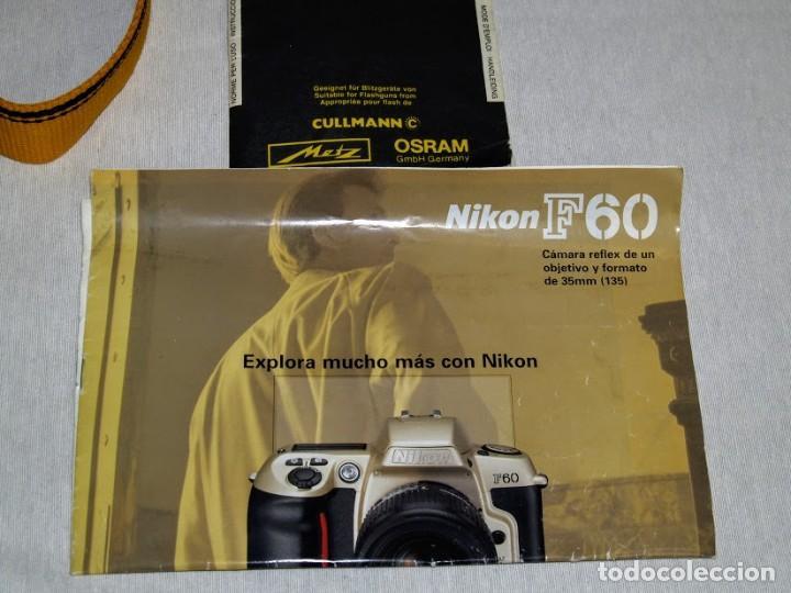 Cámara de fotos: Camara de fotos Nikon F60 + objetivo Sigma F35-135 mm - Foto 9 - 203628652
