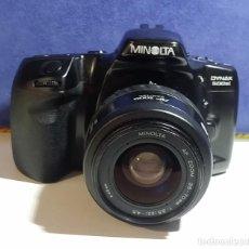 Cámara de fotos: MINOLTA DYNAX 500SI CON OBJETIVO 35-70MM. Lote 204603010