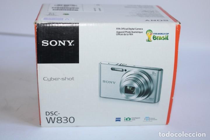 CAMARA DE FOTOS SONY CYBER SHOT DSC W830,20.1 MP +SD 16 GB (Cámaras Fotográficas - Réflex (autofoco))