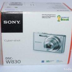 Cámara de fotos: CAMARA DE FOTOS SONY CYBER SHOT DSC W830,20.1 MP +SD 16 GB. Lote 205244228